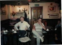 Jet Owen And Ron At The Hop Pole