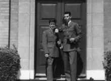 6._App_Admin_Shay_Foley_and_J_Dyer_-_RAF_Bircham_Newton_-_May_1962_