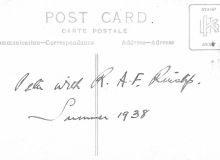 Post Card Referring To Possible Apprentice Clerk