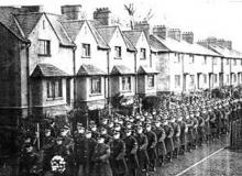 Ruislip Apprentices March On Armistice Day 1935