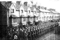 Ruislip Apprentices March On Armistice Day 1935