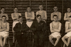 Post Card Image Featuring Possible RAF Apprentice Clerks At Ruislip