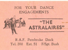 Astralaires Daddy's business card