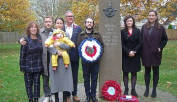 RAF Bircham Newton Heritage Centre - Armistice Day 11th November 2018