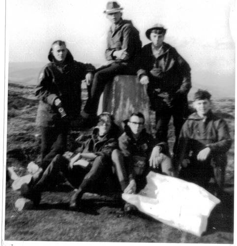 Taken by Ian Mitchell. Expedition led by his father Flt Lt John Mitchell
