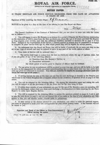 Ian-Dunn-RAF-F266-Notice-Paper-Amended